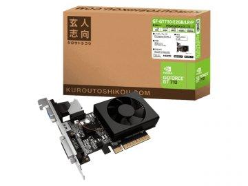 玄人志向 GF-GT710-E2GB/LP/P 01 PCパーツ グラフィック・ビデオカード PCI-EXPRESS