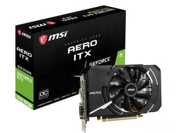 MSI GeForce GTX 1660 SUPER AERO ITX OC 01 PCパーツ グラフィック・ビデオカード PCI-EXPRESS