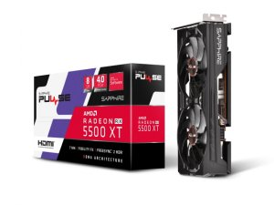PULSE RADEON RX 5500 XT 8G GDDR6 HDMI / TRIPLE DP OC W/ BP (UEFI)