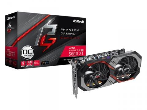Radeon RX 5600 XT Phantom Gaming D2 6G OC