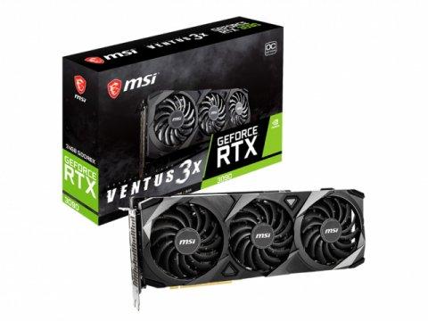 MSI GeForce RTX 3090 VENTUS 3X 24G OC 01 PCパーツ グラフィック・ビデオカード PCI-EXPRESS