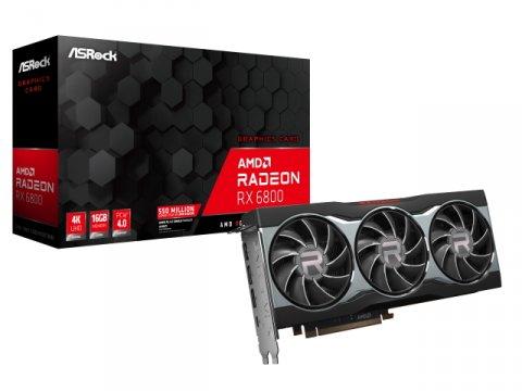 ASRock RADEON RX6800 16G 01 PCパーツ グラフィック・ビデオカード PCI-EXPRESS