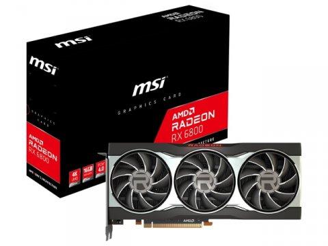 MSI Radeon RX 6800 16G 01 PCパーツ グラフィック・ビデオカード PCI-EXPRESS