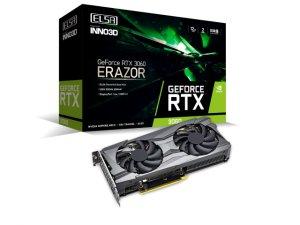ELSA GeForce RTX 3060 ERAZOR