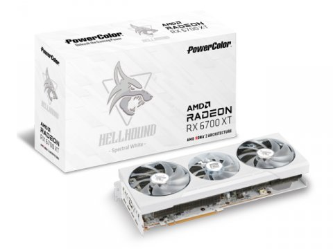 PowerColor AXRX 6700XT 12GBD6-3DHLV2 01 PCパーツ グラフィック・ビデオカード PCI-EXPRESS