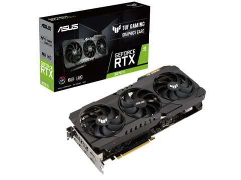 ASUS TUF-RTX3070TI-8G-GAMING 01 PCパーツ グラフィック・ビデオカード PCI-EXPRESS
