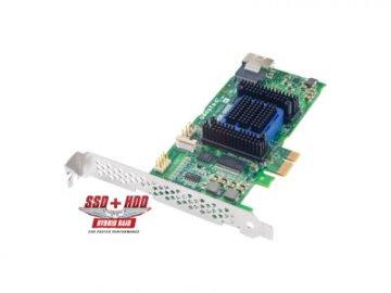 Adaptec ASR-6405E SINGLE 2270800-R 01 PCパーツ 周辺機器 拡張カード RAID・RAID関連