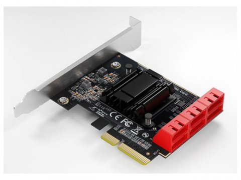 AREA SD-PE4SA-6L V6 NA 01 PCパーツ 周辺機器 拡張カード RAID・RAID関連