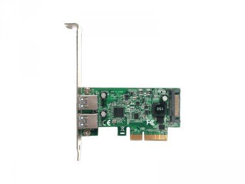 玄人志向 USB3.1A-P2-PCIE3