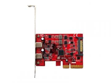 玄人志向 USB3.2C-P2-PCIE3 01 PCパーツ 周辺機器 拡張カード USB・IEEE1394カード