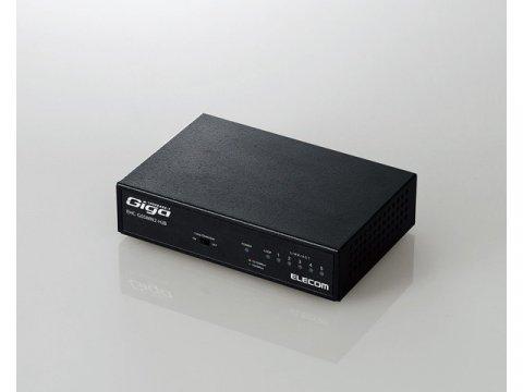 ELECOM EHC-G05MN2-HJB 01 PCパーツ 周辺機器 ネットワーク機器 有線ネットワーク機器