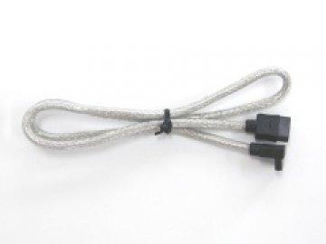 親和 SS-SASC-SL02 SATA丸ケーブル 片L 20cm 01 PCパーツ ドライブ・ストレージ ケーブル・コネクタ