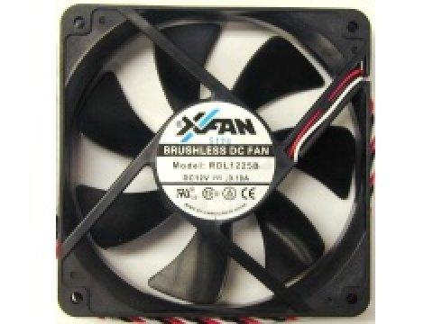 長尾 X-FAN RDL1225NMB17 BB1217SPBK 01 PCパーツ クーラー | FAN | 冷却関連 セカンドファン