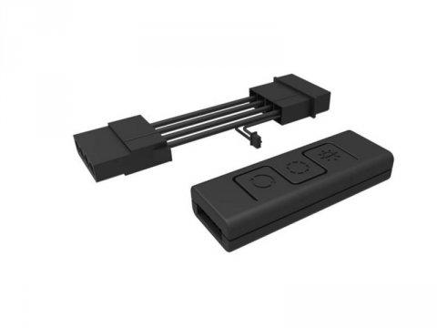 RE-C10L-RGB-R1 Wire RGB Controller C10L 01 PCパーツ PCアクセサリー 光り物、PCMOD系
