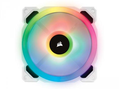 CO-9050091-WW LL120 RGB White Single Fan 01 PCパーツ クーラー | FAN | 冷却関連 セカンドファン