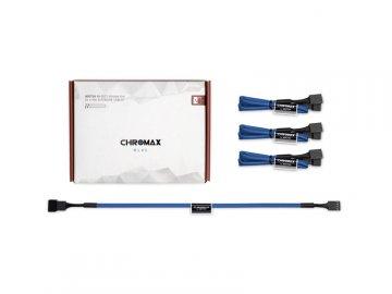 Noctua NA-SEC1 chromax.blue 01 PCパーツ PCアクセサリー ケーブル・コネクタ