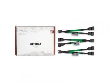Noctua NA-SYC1 chromax.green 01 PCパーツ PCアクセサリー ケーブル・コネクタ