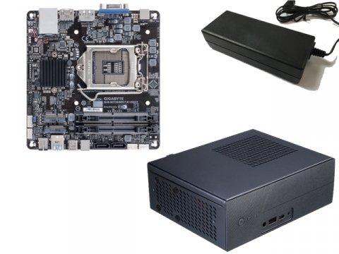 GIGABYTE GA-H110MSTX-HD3-ZK 01 PCパーツ ベアボーン Intel用ベアボーン