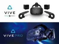 HTC VIVE CE and PRO HMD セット