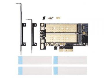 AINEX AIF-06A 01 PCパーツ 周辺機器 拡張カード 変換アダプタ