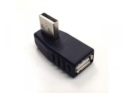 SSA SUAF-UAMUL USB A オス-メス L型上向き 01 PCパーツ PCアクセサリー ケーブル・コネクタ