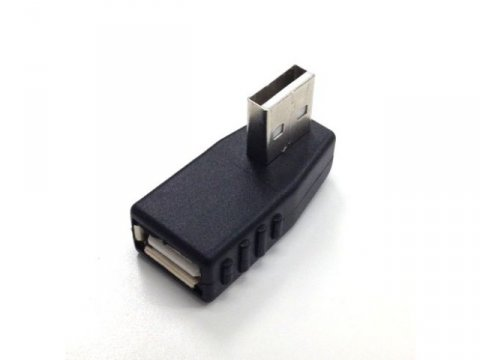 SSA SUAF-UAMDL USB A オス-メス L型下向き 01 PCパーツ PCアクセサリー ケーブル・コネクタ