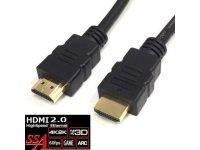 SSA SHDMI-1M2 HDMIケーブル1m HDMI2.0
