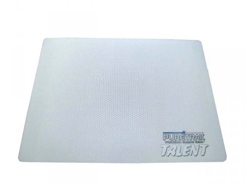 PureTrak Talent WHITE Special Edition Soft Cloth Mouse Pad (MP-TALENT-WHITE)