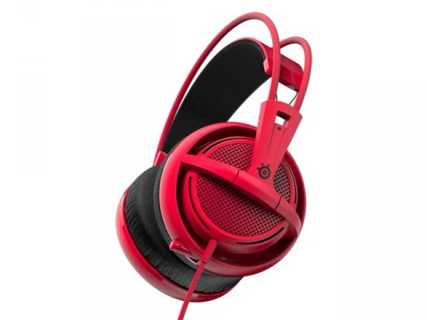 SteelSeries Siberia 200 Forged Red 01 ゲーム ゲームデバイス ヘッドセット
