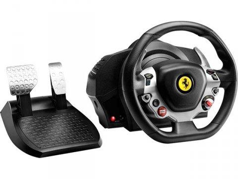 TX Racing Wheel Ferrari 458 Italia Edit 01 ゲーム ゲームデバイス ジョイスティック