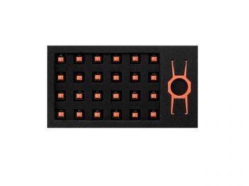 EPICGEAR EG Switch Orange 24 Pack 01 ゲーム ゲームデバイス キーボード
