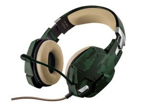 GXT 322C Gaming Headset - green camouflage
