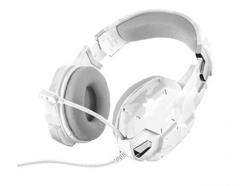 GXT 322W Gaming Headset - white camoufla 01 ゲーム ゲームデバイス ヘッドセット