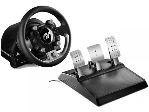 T-GT Force Feedback Racing Wheel for PS4 01 ゲーム ゲームデバイス ジョイスティック