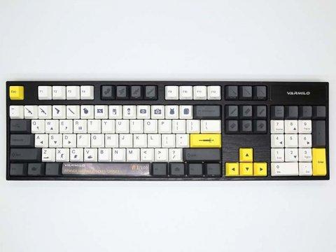 vm-va104-llpbqw-a-silentred 01 周辺機器 ゲーム 入力デバイス キーボード