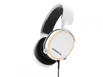 SteelSeries Arctis 5 White (2019 Edition 01 ゲーム ゲームデバイス ヘッドセット