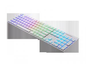 Gram XS 薄型メカニカルキーボード 青軸 ホワイト