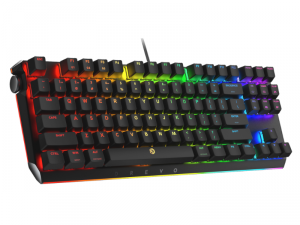 BladeMaster TE 87K US Layout Wired Gateron Red Switch