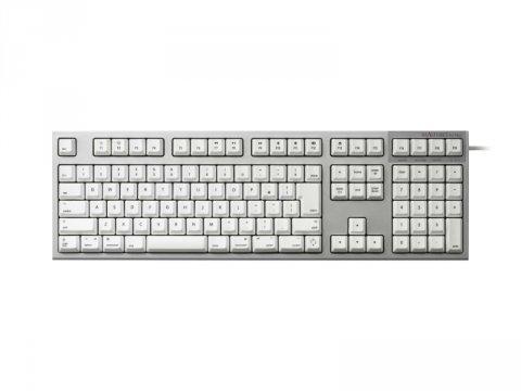 REALFORCE for Mac 日本語114配列 シルバー/白 変荷重 昇華印刷