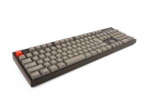 ARCHISS MaestroFL メカニカル フルキーボード 日本語JIS配列 黒ボディ・グレーキーキャップ モデル CHERRY MX 赤軸