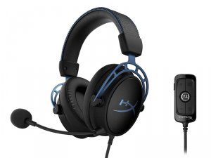 HyperX Cloud Alpha S - Gaming Headset (Blue)