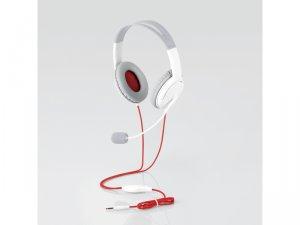 ゲーム向け/4極/両耳オーバーヘッド/1.0m/1.5m延長ケーブル付/PS4/Switch対応/ホワイト
