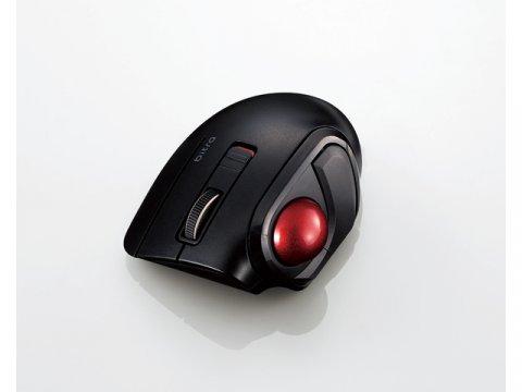 Bluetooth(R)モバイルトラックボール(親指操作タイプ) M-MT1BRSBK