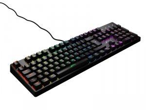 K4 RGB 英語配列 赤軸メカニカル ゲーミングキーボード UK配列