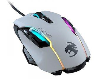 ROC-11-820-WE / KONE AIMO Re White 01 ゲーム ゲームデバイス マウス