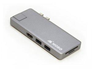 Dual USB-C Dock +LAN