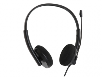 高音質USBヘッドセット /AHS-02 01 PCパーツ 周辺機器 PCサウンド | オーディオ関連 ヘッドセット