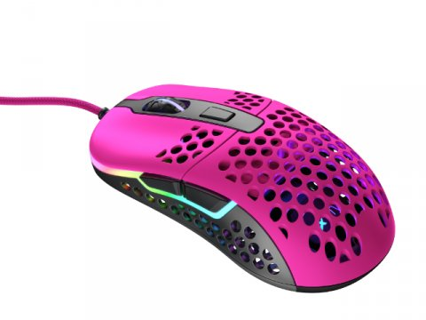 701305 M42 RGB ピンク ゲーミングマウス