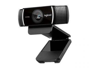 Logicool HD Pro Stream Webcam c922 01 PCパーツ 周辺機器 ゲーム ネットワーク関連 ネットワークコミュニケーション(Skype・WEBカメラ他)