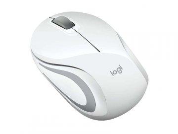 Logicool Wirelesss Mini Mouse M187rWH 01 PCパーツ 周辺機器 モバイル 入力デバイス マウス